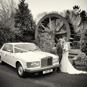 Rolls Royce at Mill Wheel